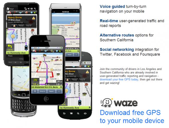 Waze News Promo Page