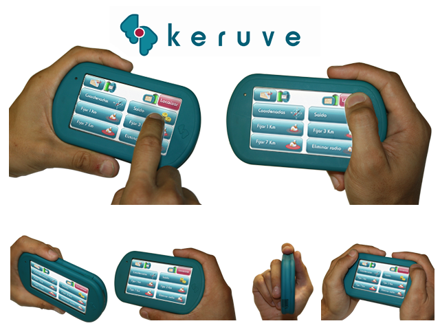 Keruve 2010 GPS Tracking System Look and Feel