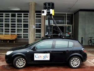 Google Street View Car Fake