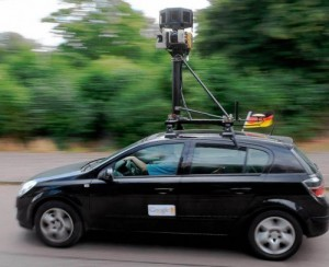 Google Street View Car Original
