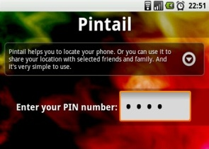Pintail GPS Tracker Lost Phone Finder