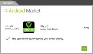 Installing Plan B App Store Affirmative