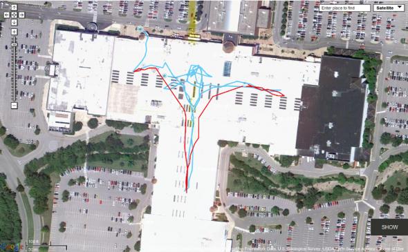 Endomondo Mall Test All Tests